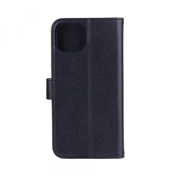 Fashion - iPhone 13 - vegansk lær - 86% beskyttelse - svart
