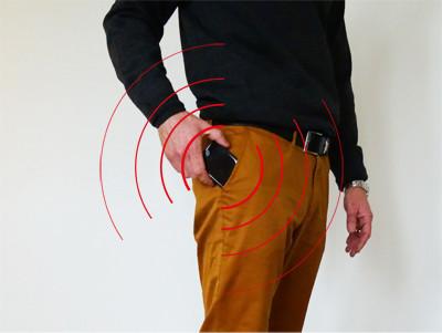 Bær ikke mobilen i bukselommen